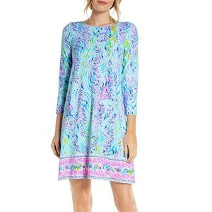 Lilly Pulitzer Dresses - NWT Lilly Pulitzer Ophelia Blue Oasis Dress XXS